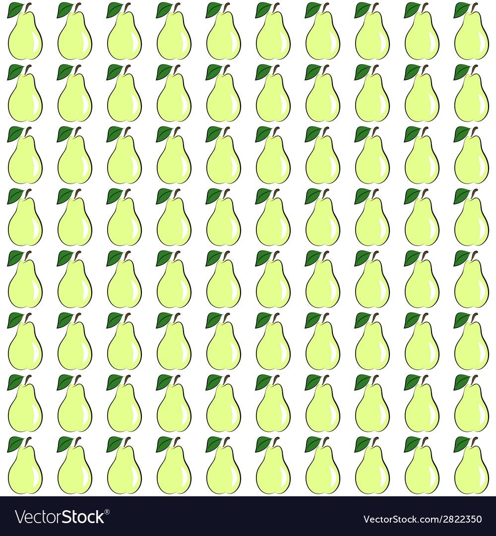 Seamless pear
