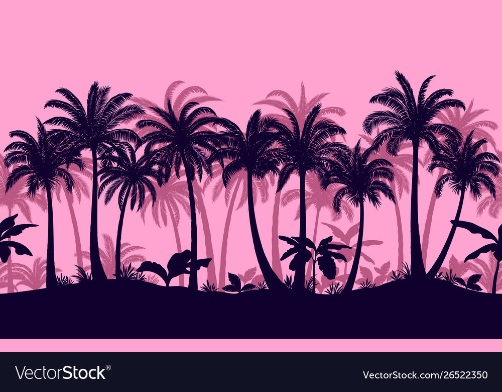 Seamless tropical forest