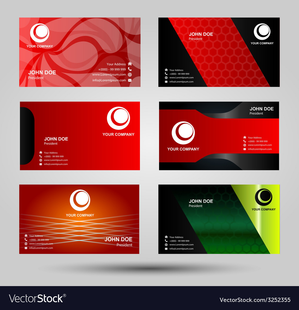 Elegant business card templates royalty free vector image elegant business card templates vector image accmission Choice Image