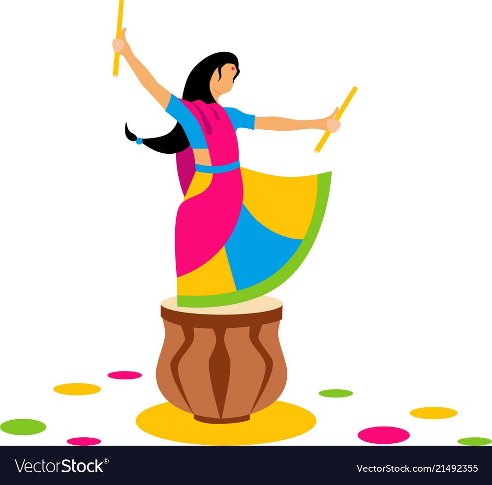 Indian dance garba