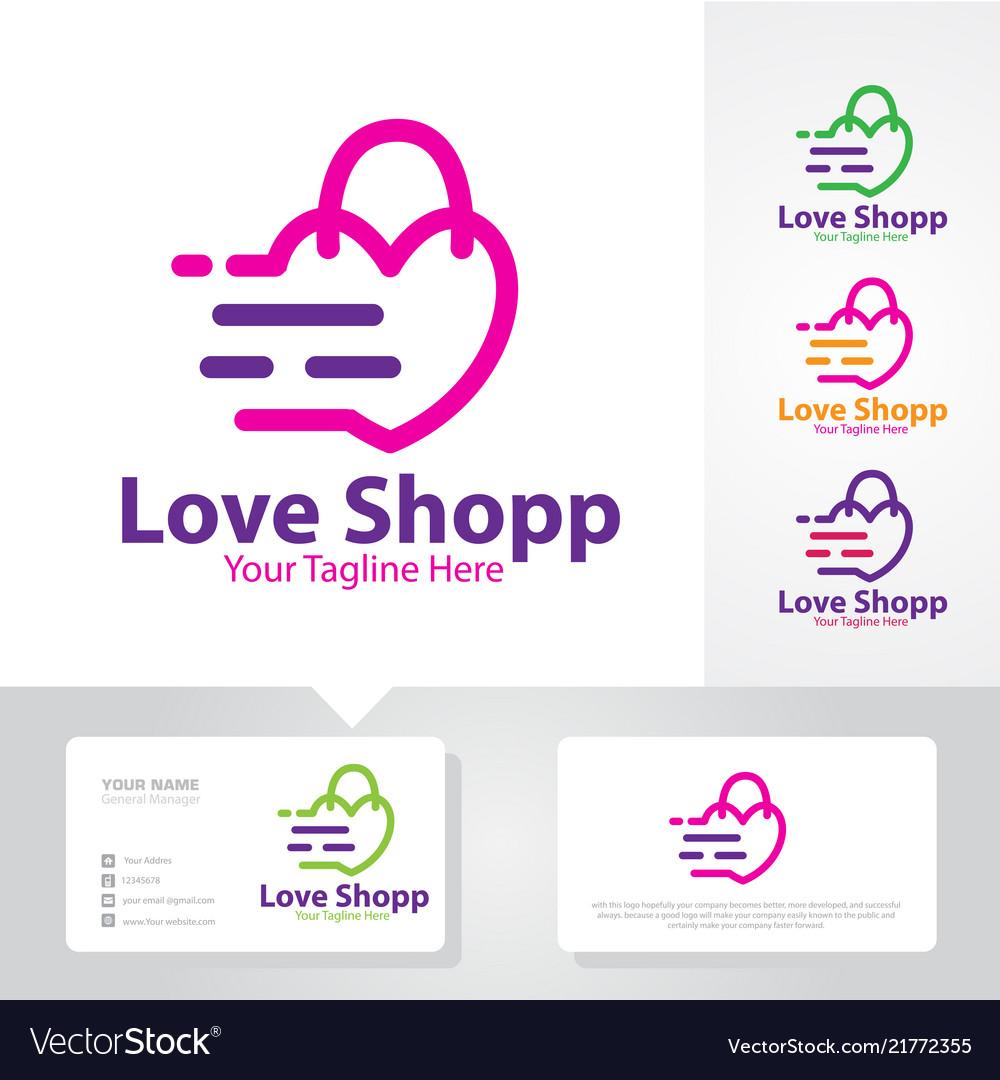 Love shop logo designs