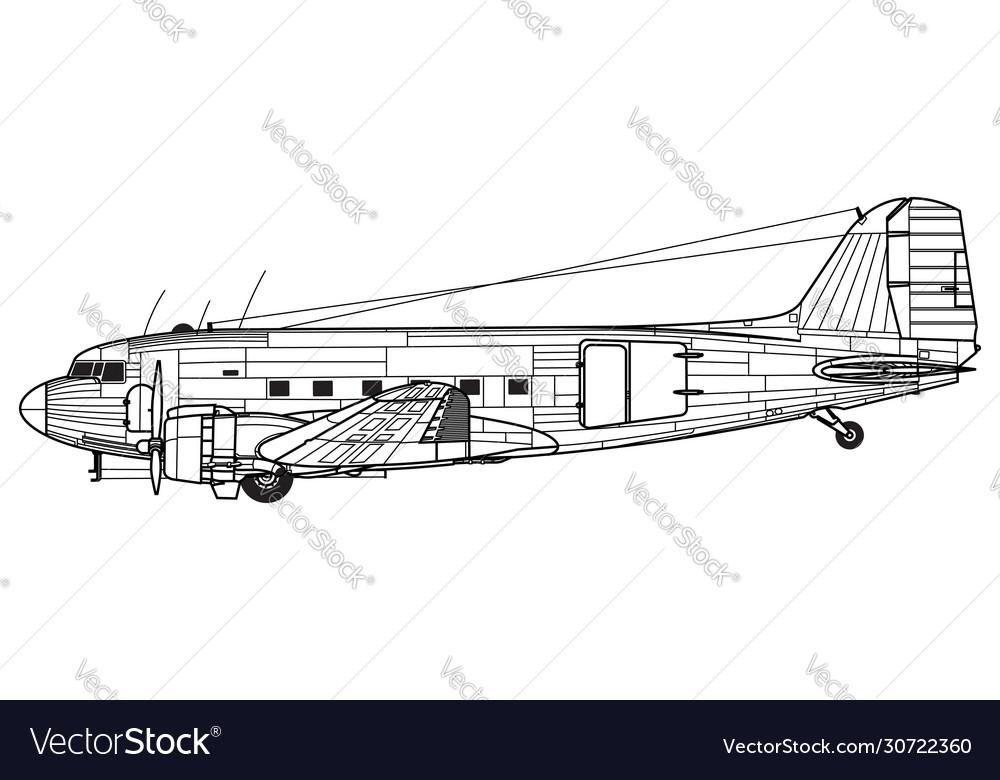 Douglas c-47 skytrain dakota dc-3