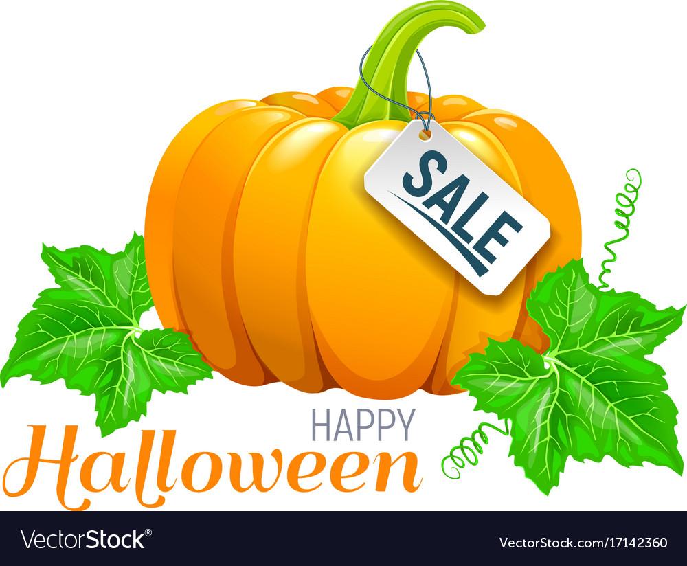 Happy halloween beautiful pumpkin sale