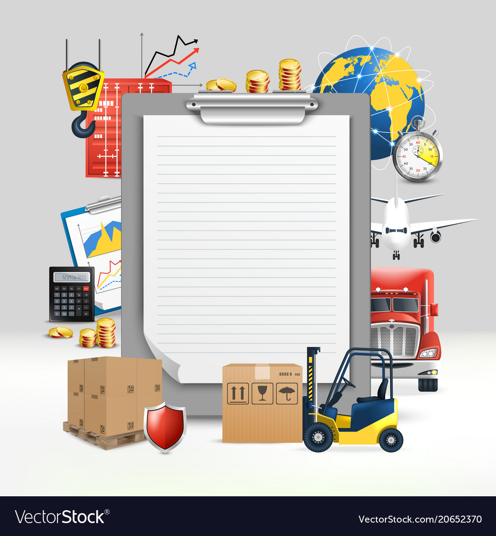 Logistic transportation composition