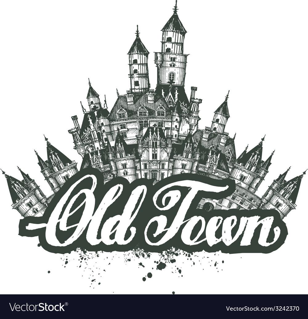 Old Town sketch artwork