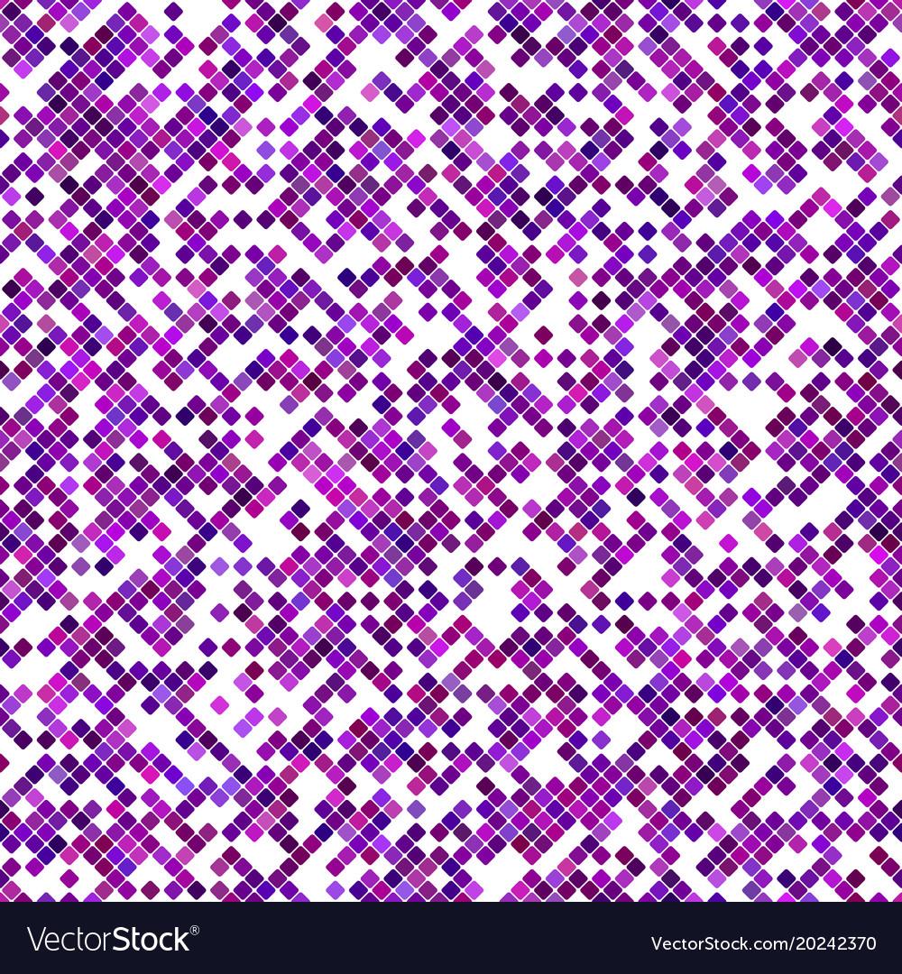 Purple seamless diagonal square pattern vector image
