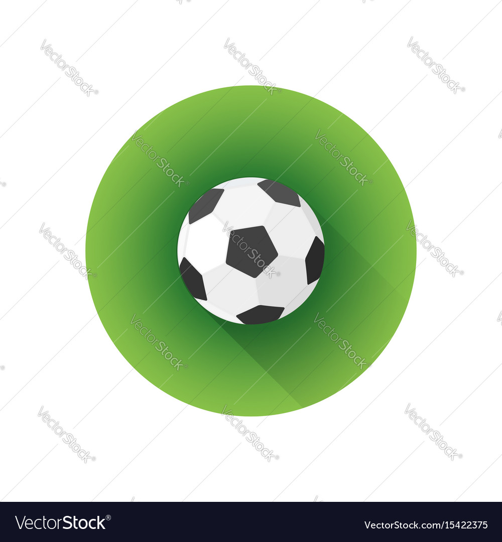 Flat color soccer ball