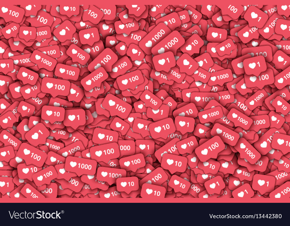 3d like counter icons abstract background