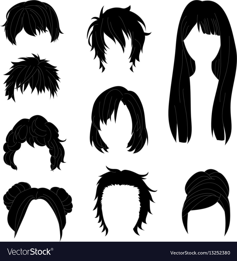 Hairstyle man and woman black2