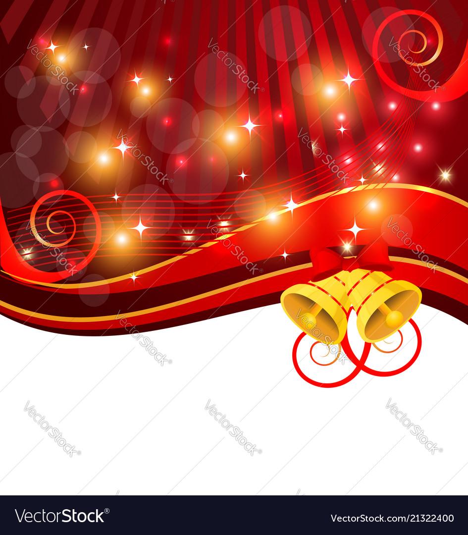 Festive christmas background card template