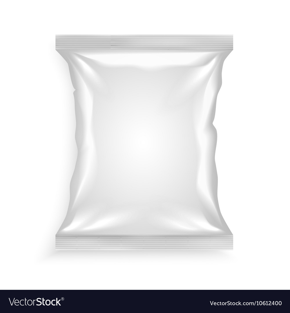 White Plastic Bag vector image