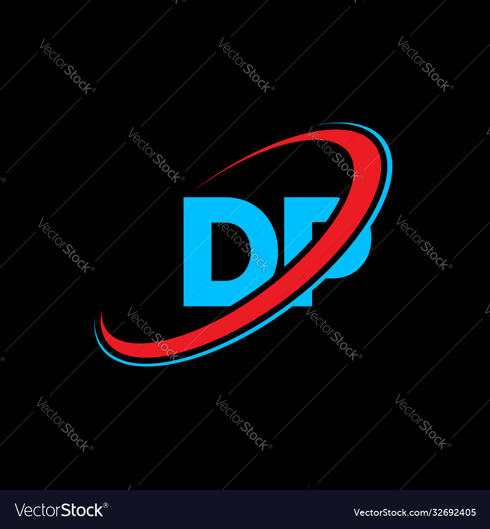 Dp d p letter logo design initial letter dp