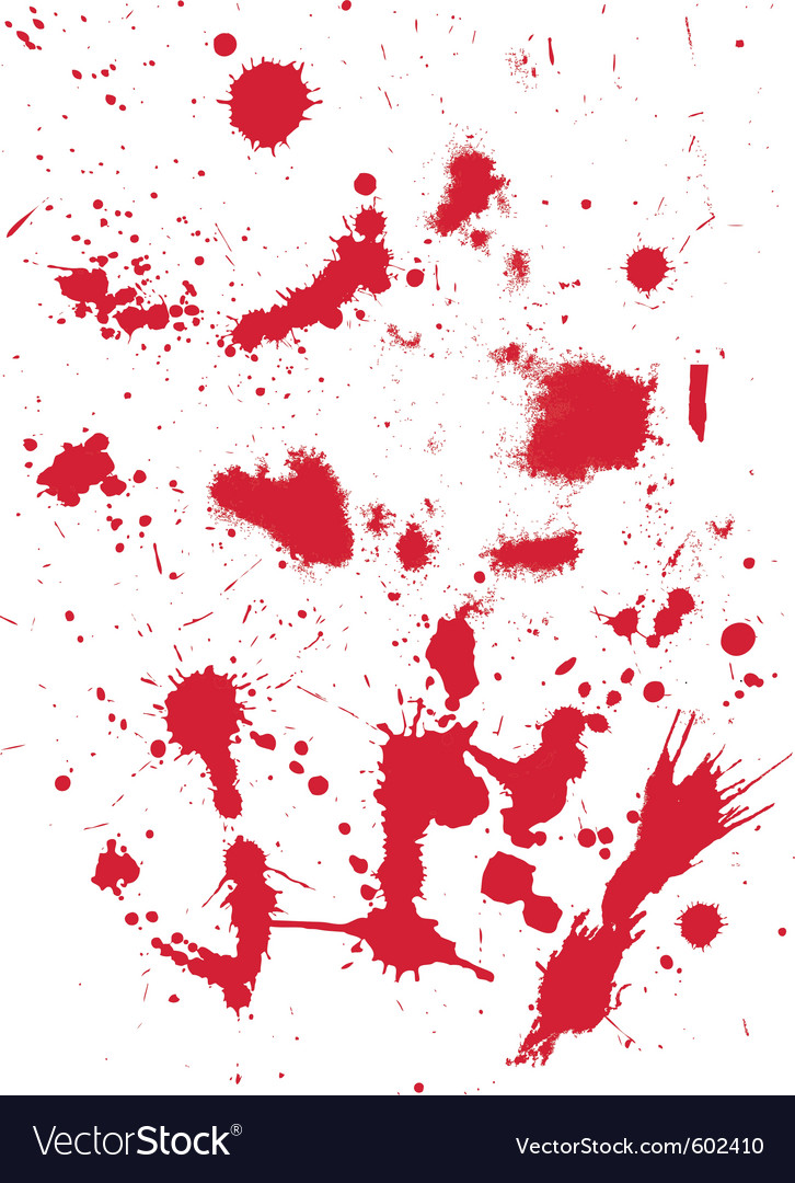 Grunge Texture From Blood Splats Royalty Free Vector Image Get commercial use grunge graphics and vector designs. vectorstock