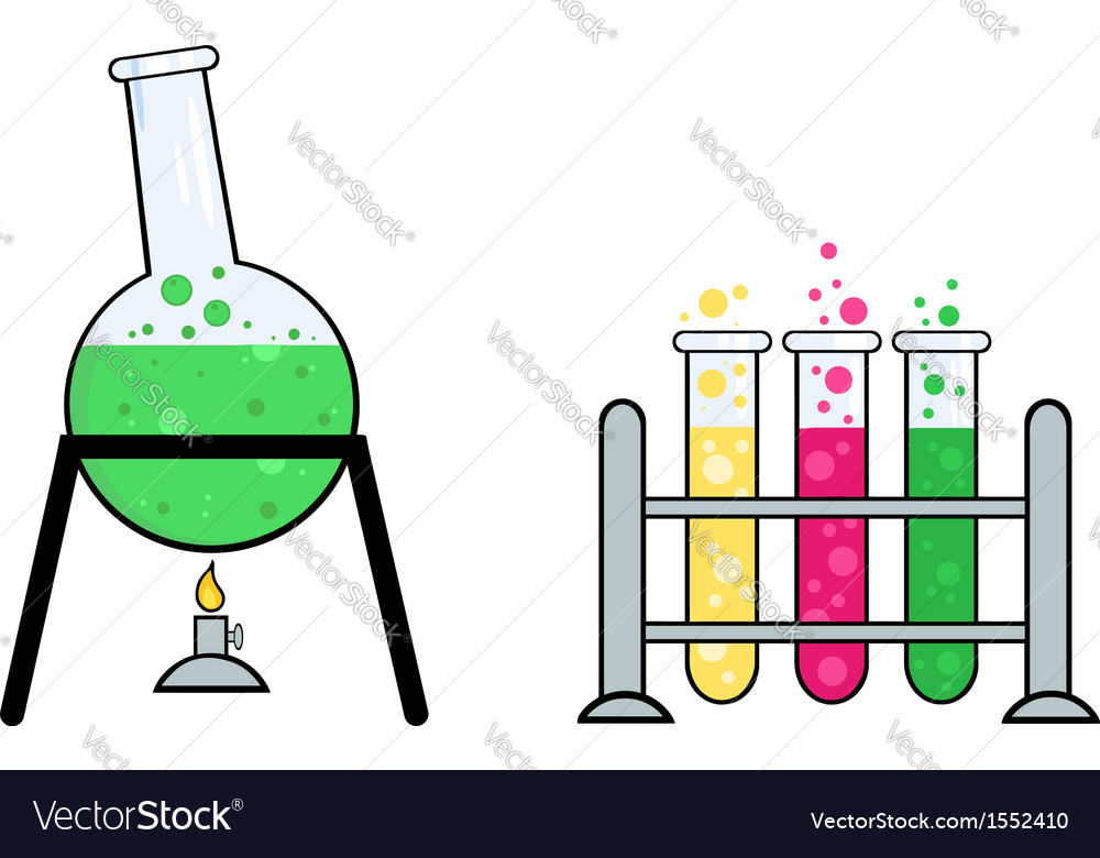 Science Equipment Royalty Free Vector Image