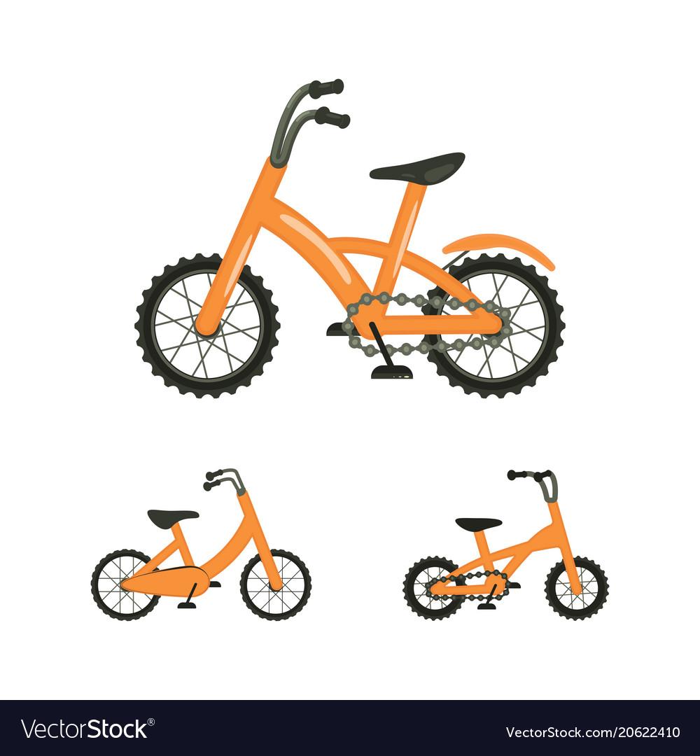 Set of bike
