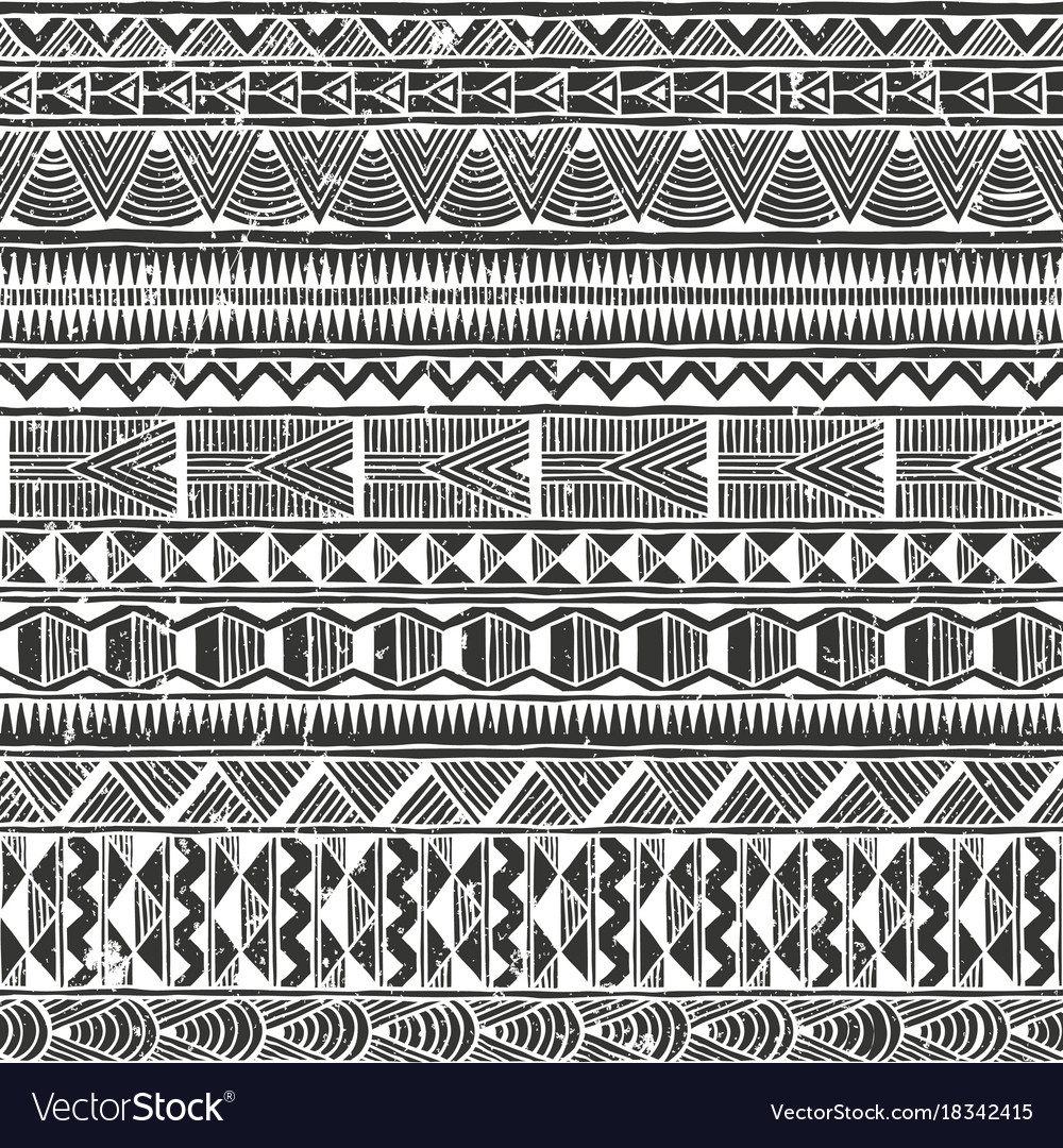 Ethnic seamless pattern abstract