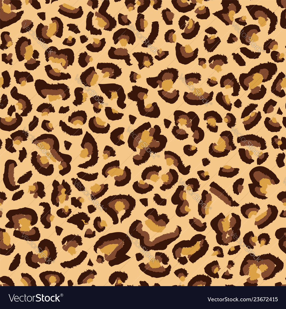 Leopard cheetah spotted texture leopard seamless