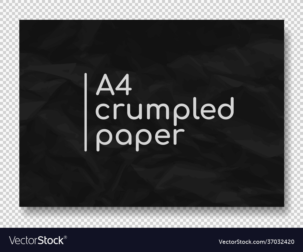 Crumpled grunge realistic old paper