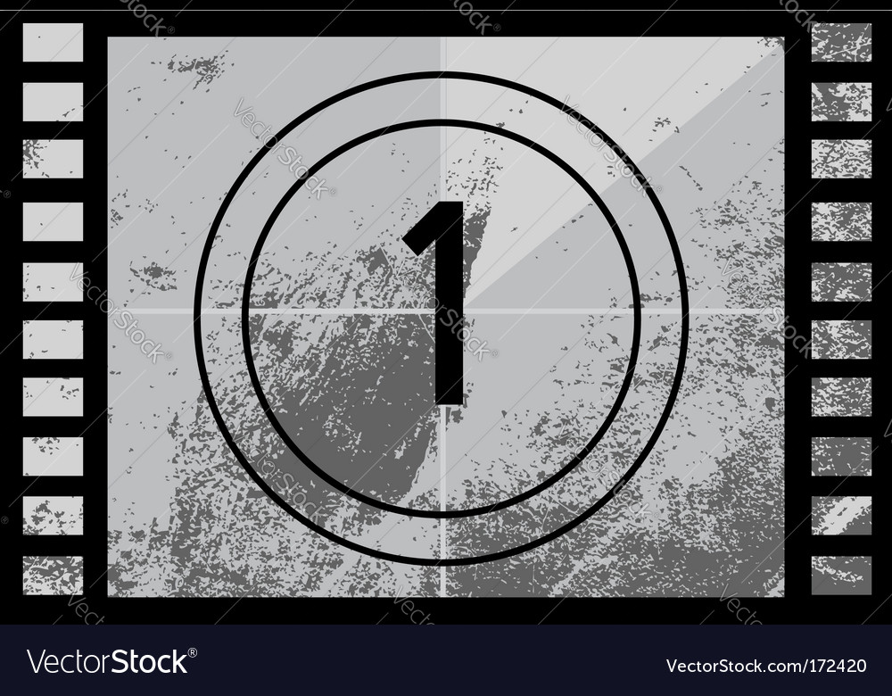 Film countdown number