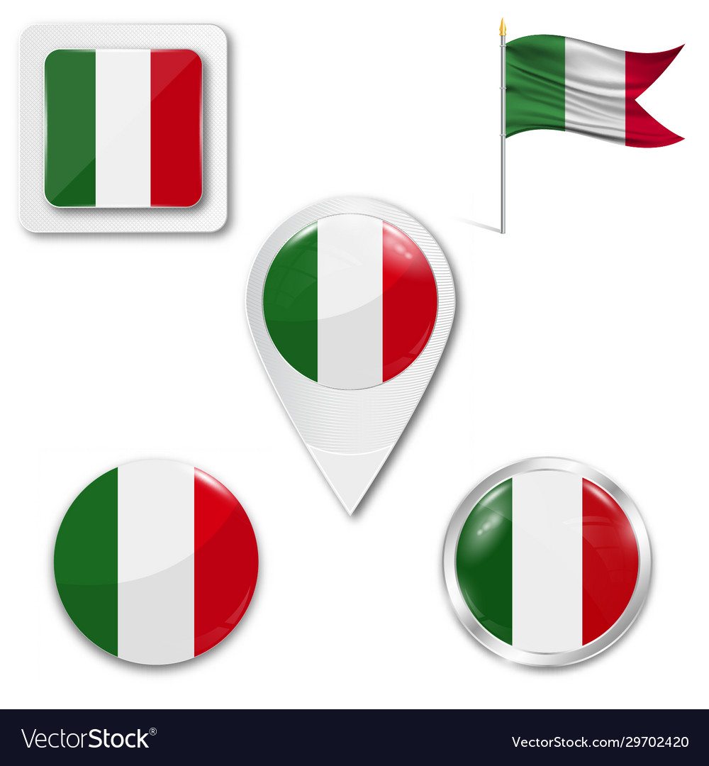 Italy country flag nation country