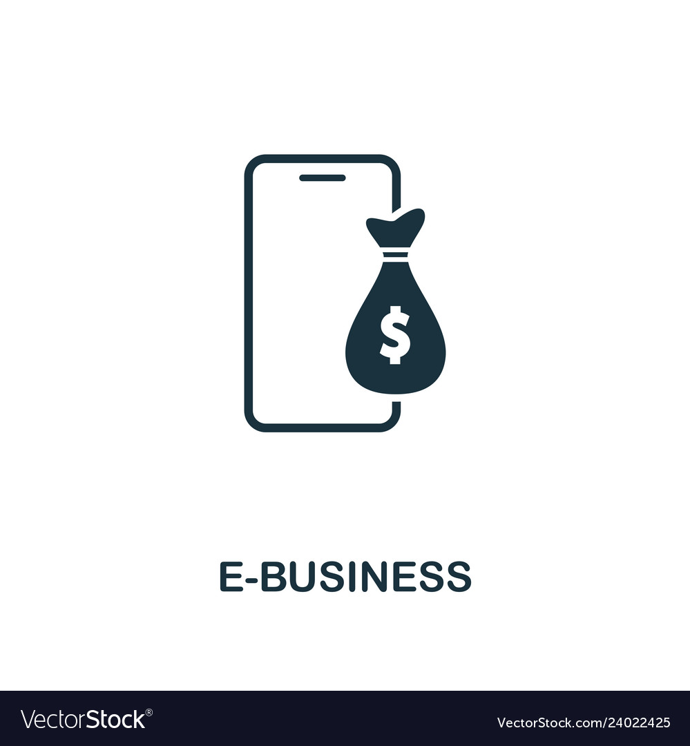 E-business icon creative element design from