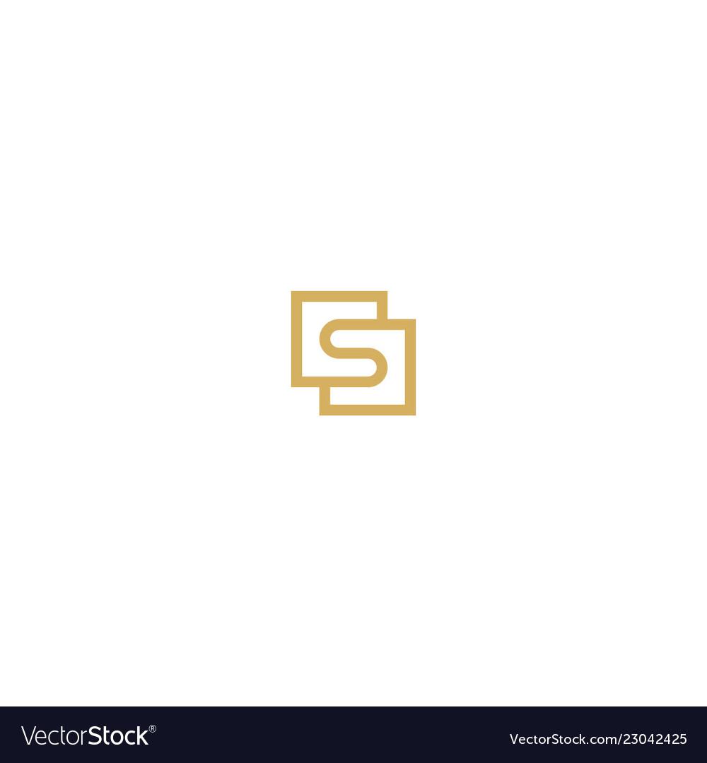 Square s initial unusual logo