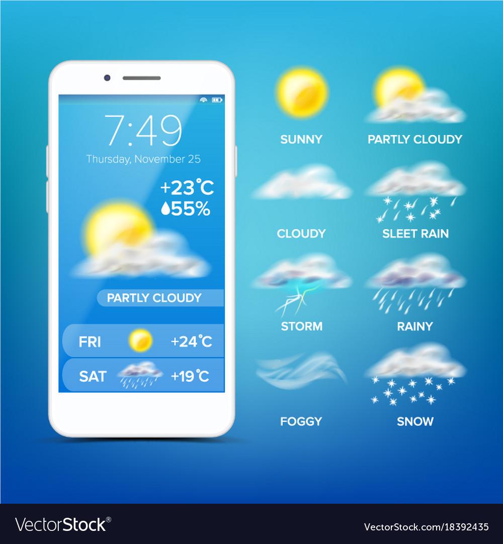 Resultado de imagem para Weather Update app