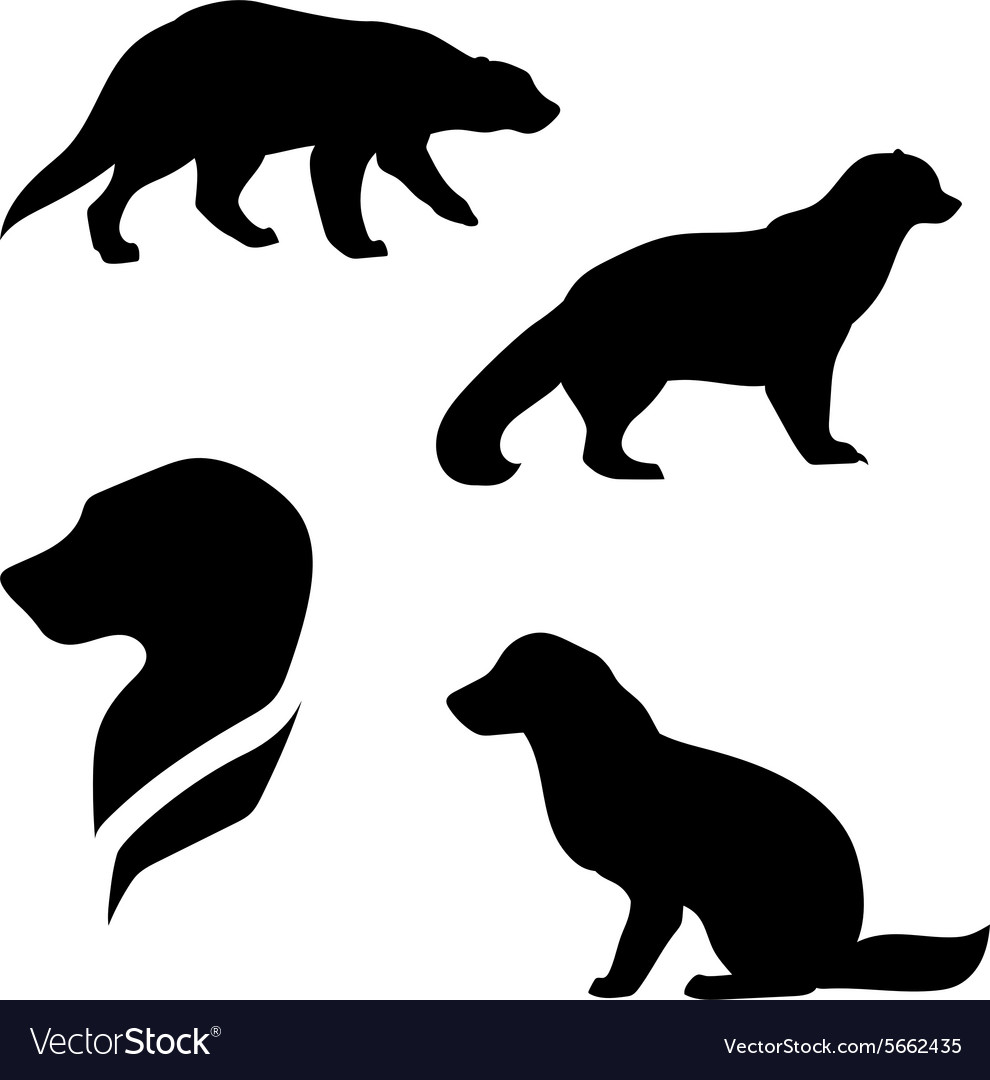 Wolverine silhouettes