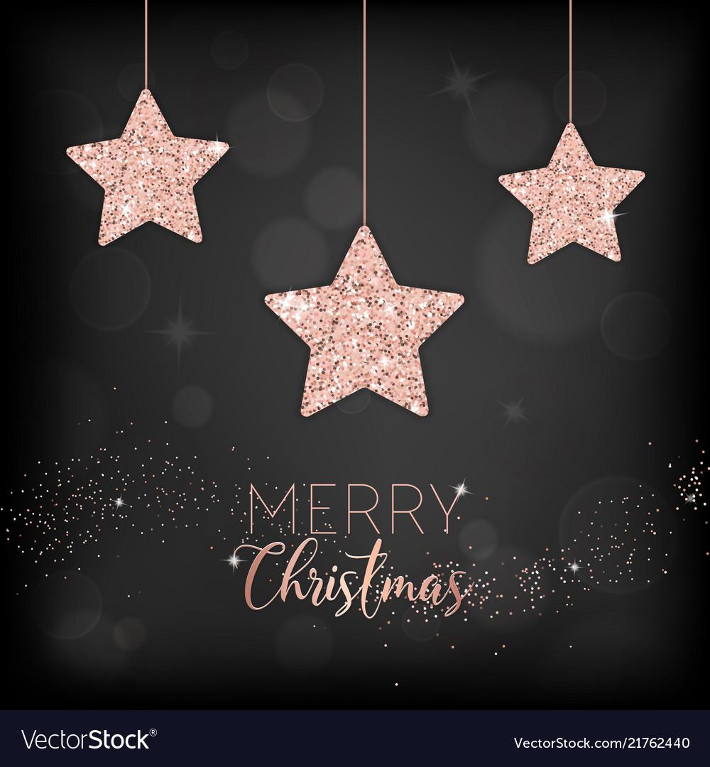 Merry christmas card invitation greetings 2019