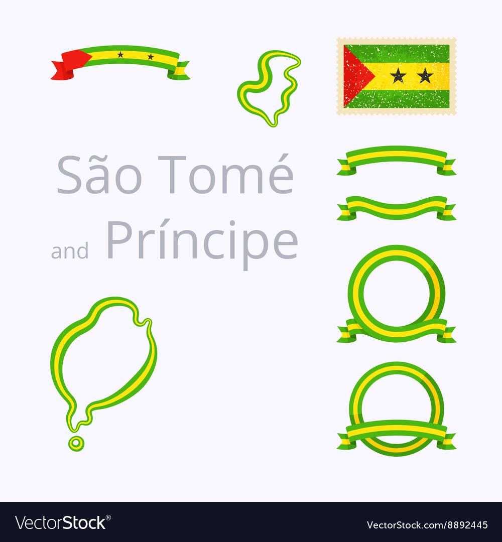 Colors of Sao Tome and Principe