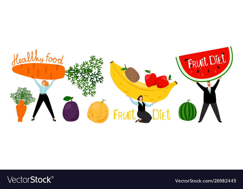Organic healthy diet concept