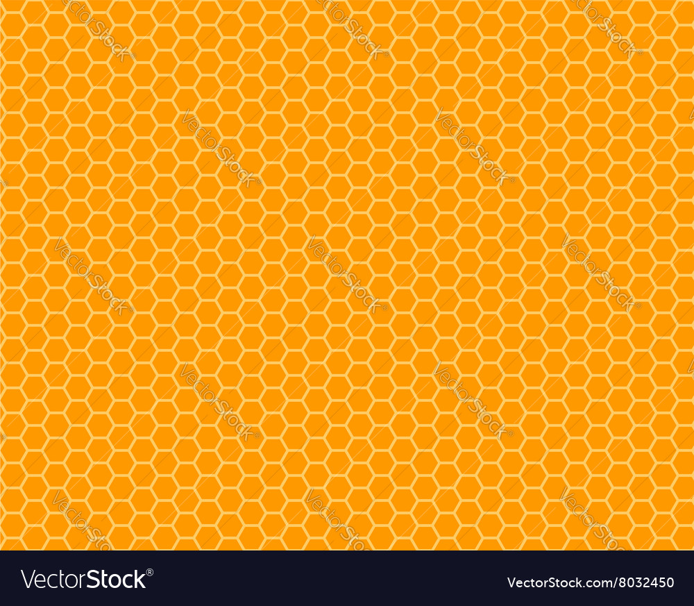 Color honeycomb seamless pattern