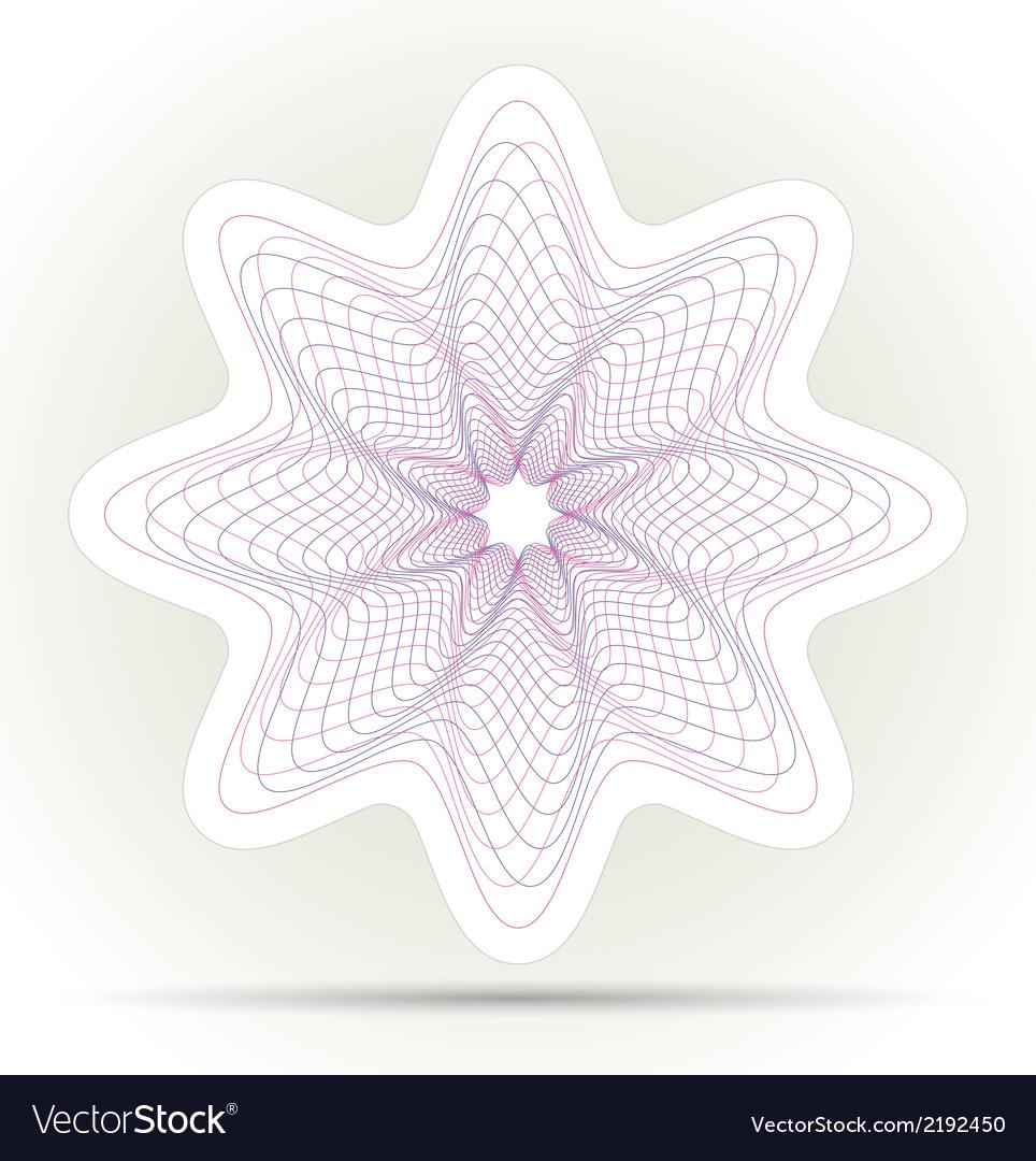 Spirograph ornament background