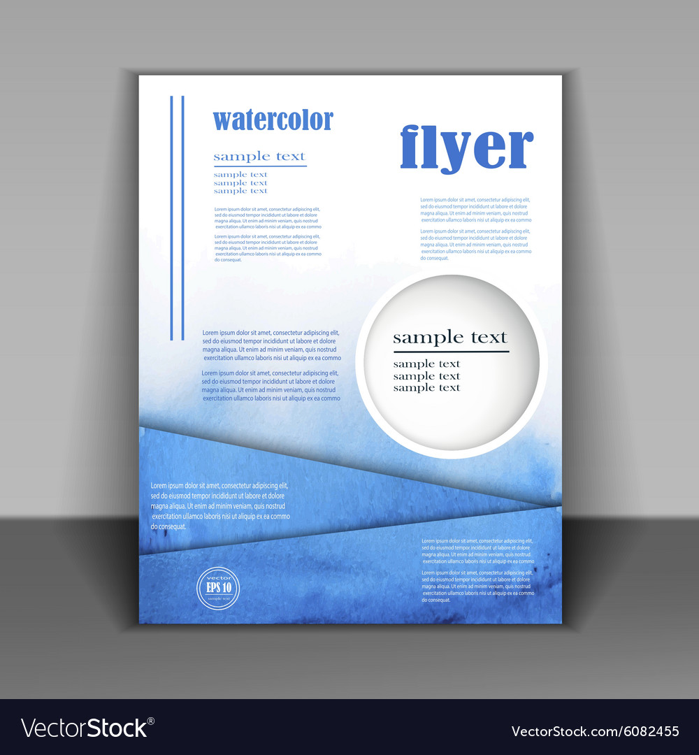 design business booklet royalty free vector image