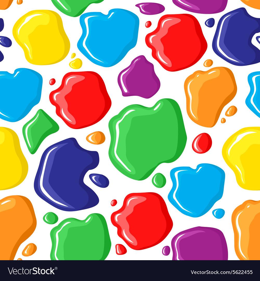 Paints pattern vector image