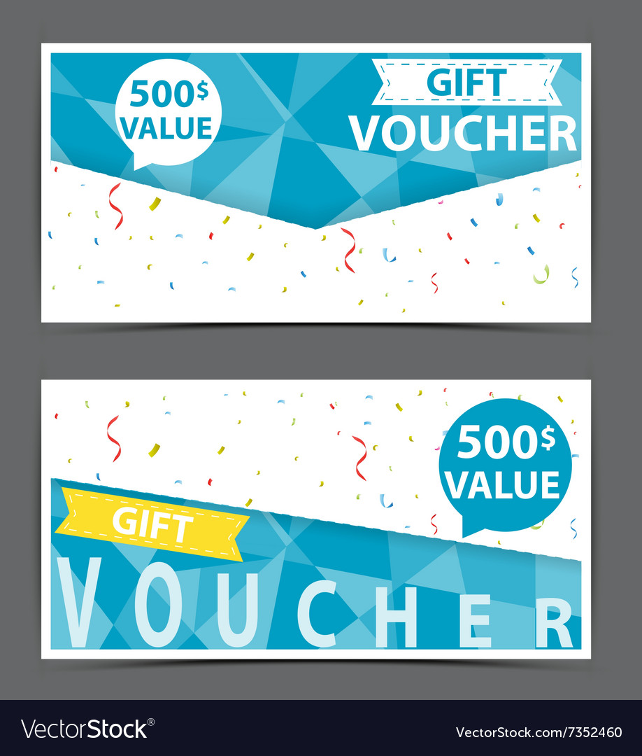 Gift voucher certificate coupon