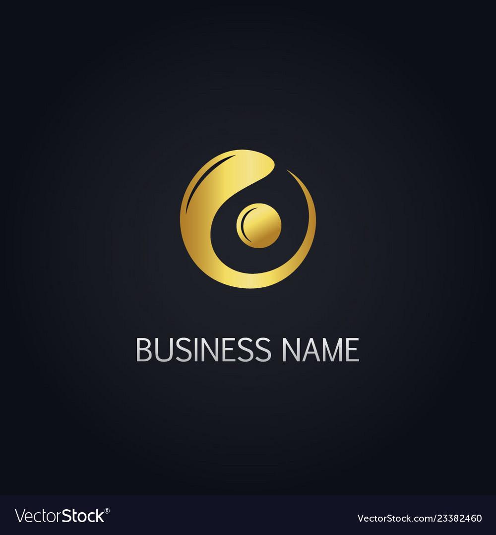 Spot Logo Royalty Free Vector Image