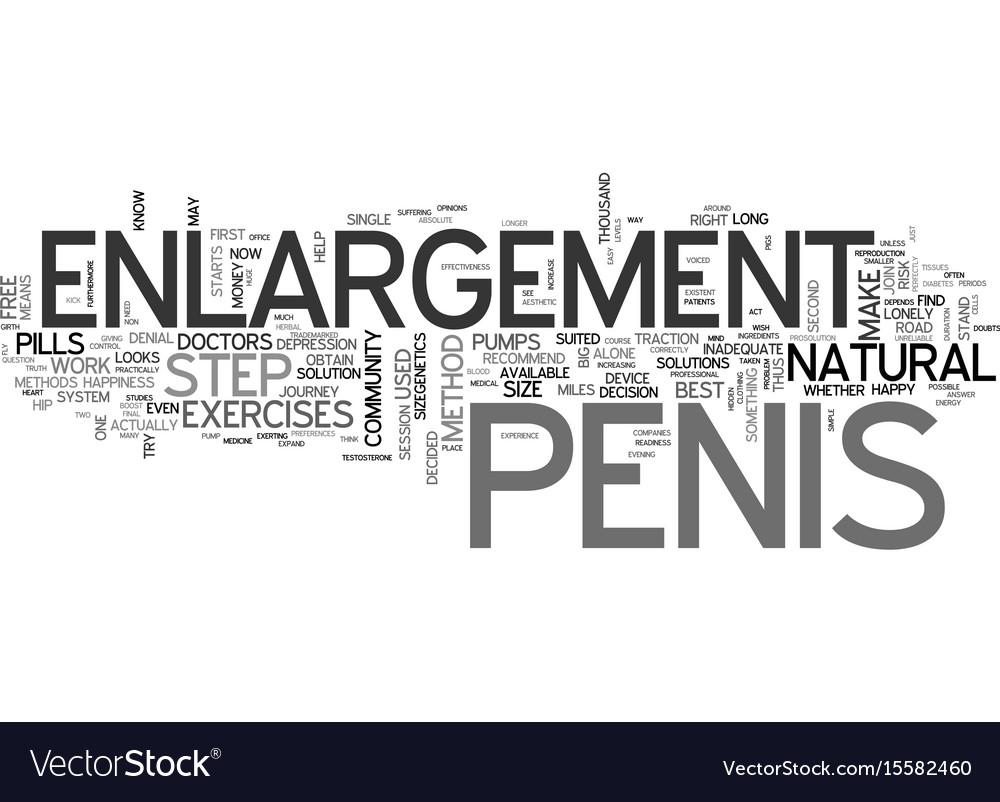 Penius enlargment methods
