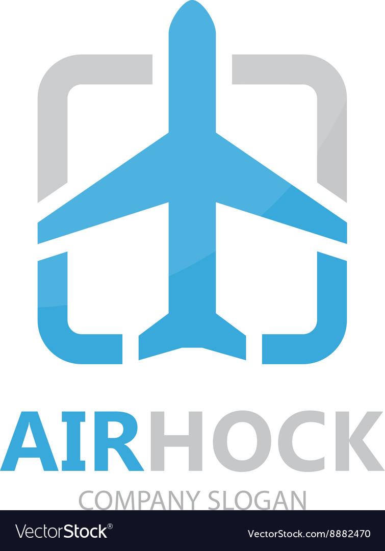 Airplane logo design design Airport logo