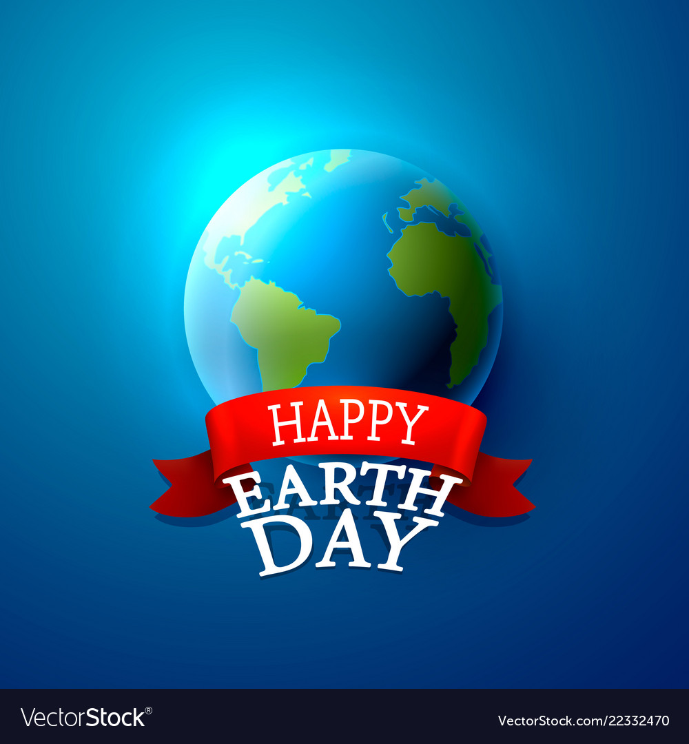Happy day earth