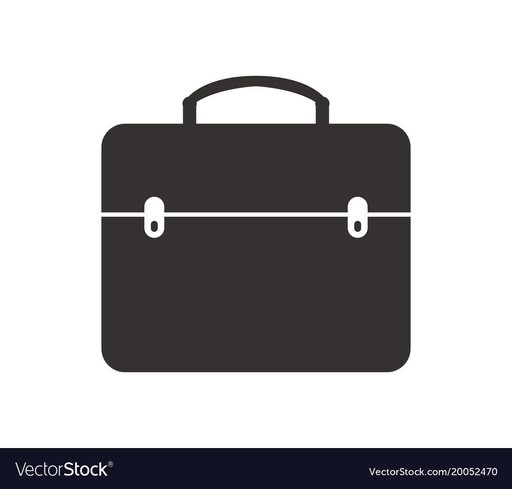 Work Bag Icon Vector Image