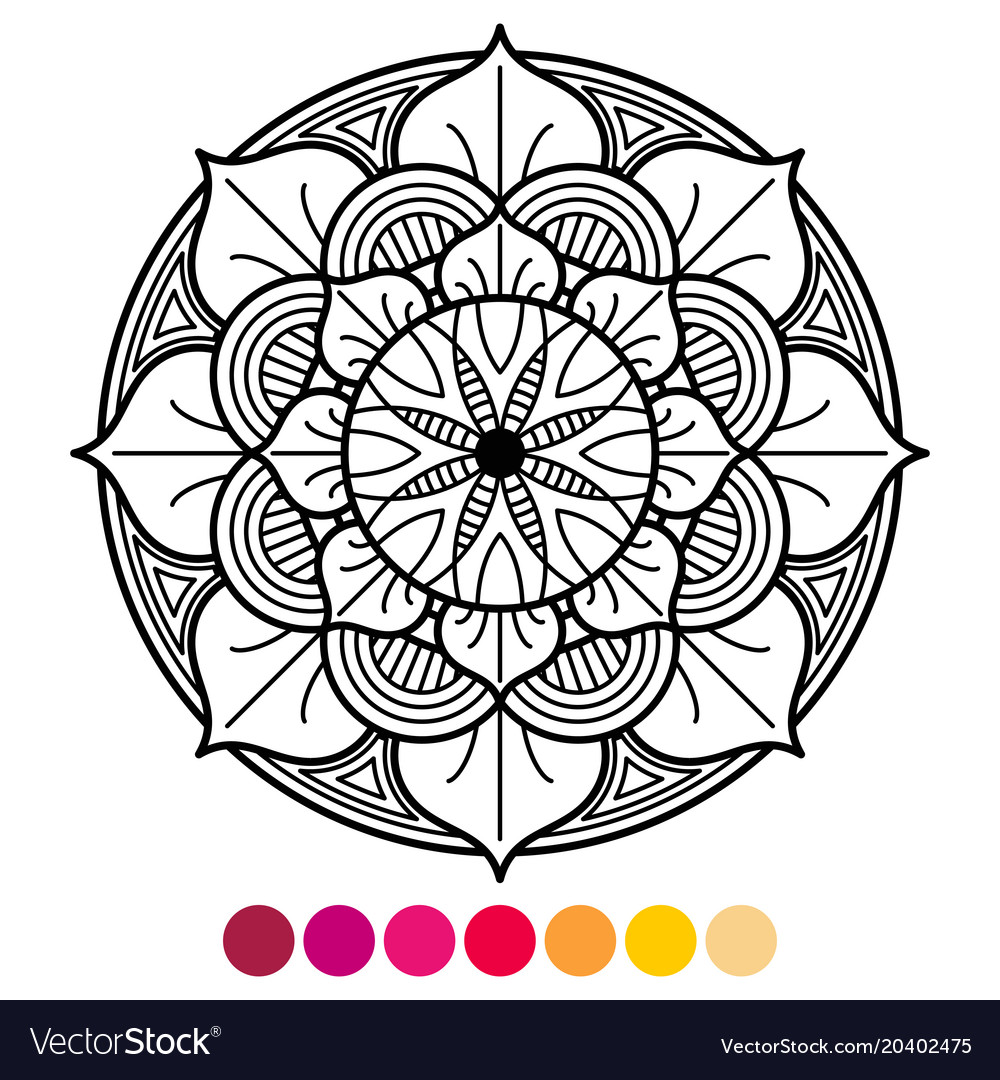 Flower Mandala Coloring Pages – coloring.rocks! | 1080x1000