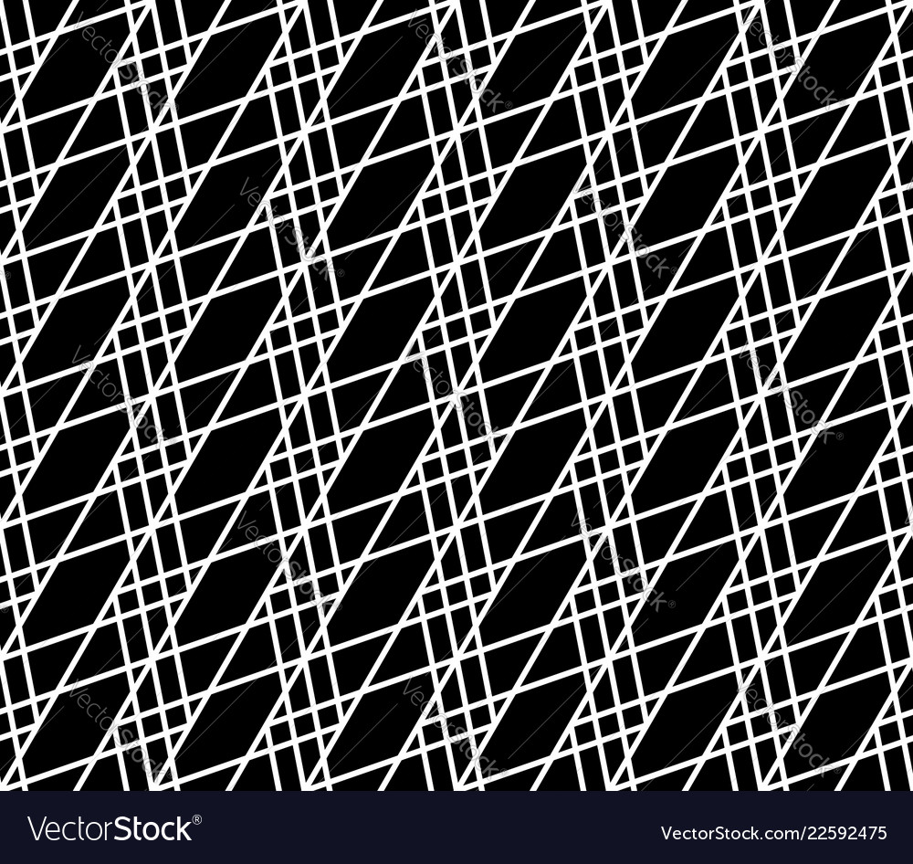 Seamlessly repeatable abstract monochrome grid