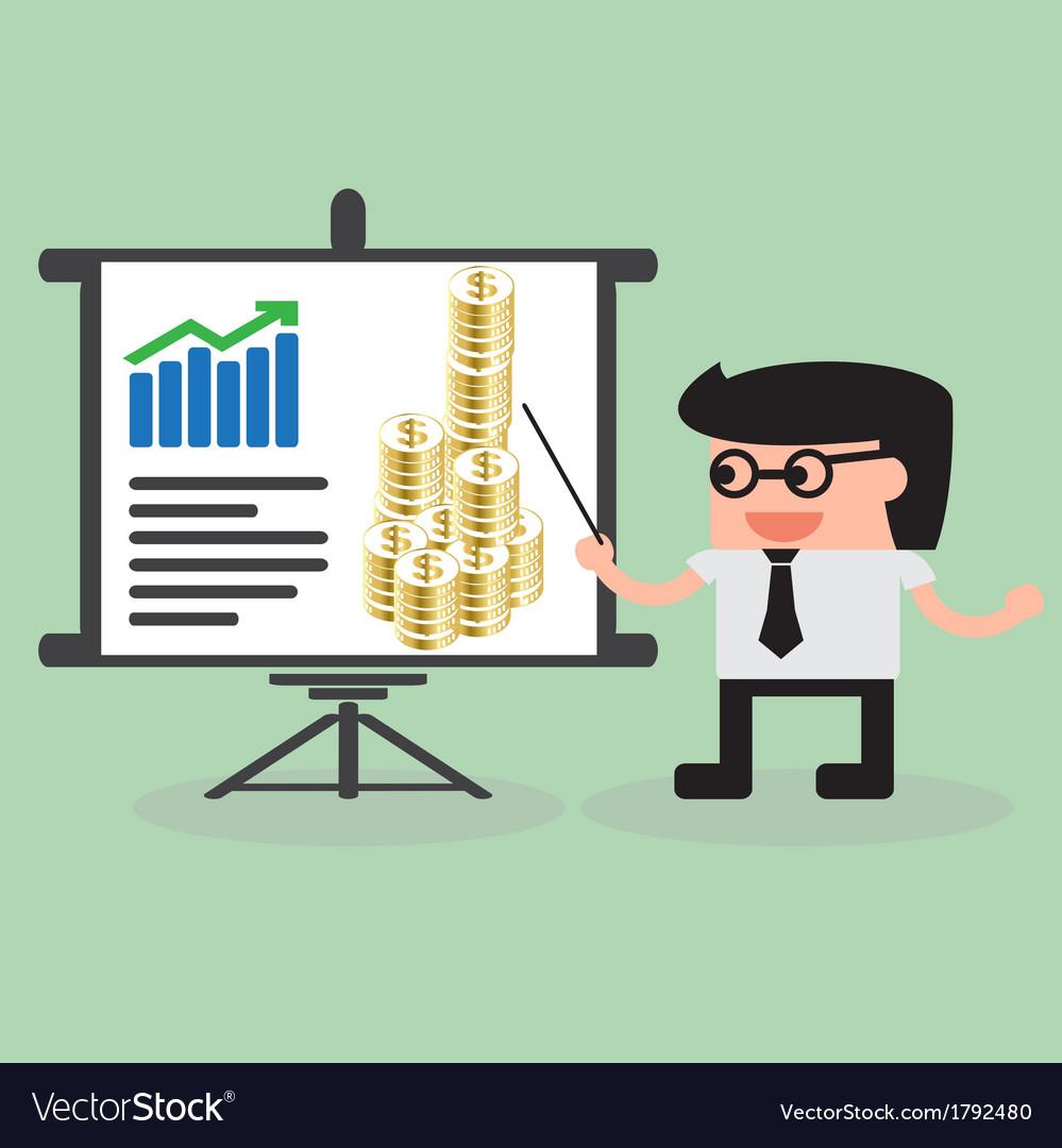 Businessman Presentation