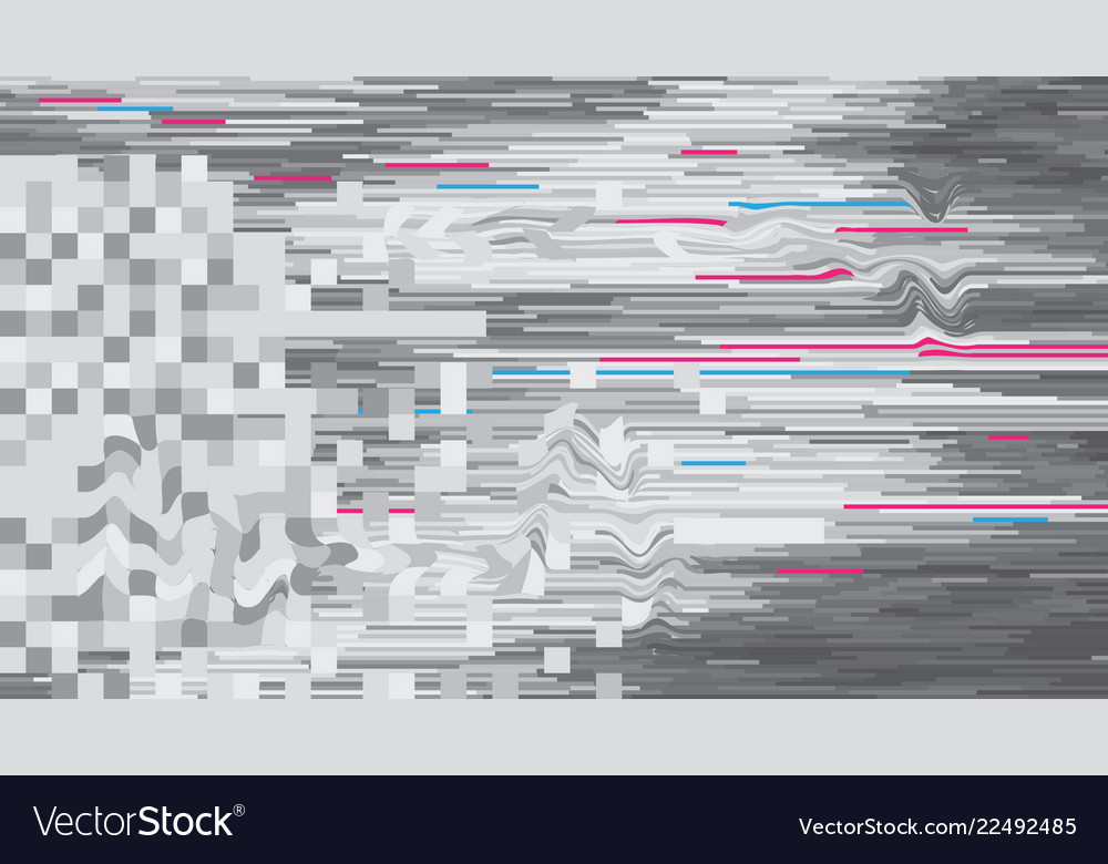 Abstract background pattern in glitch style