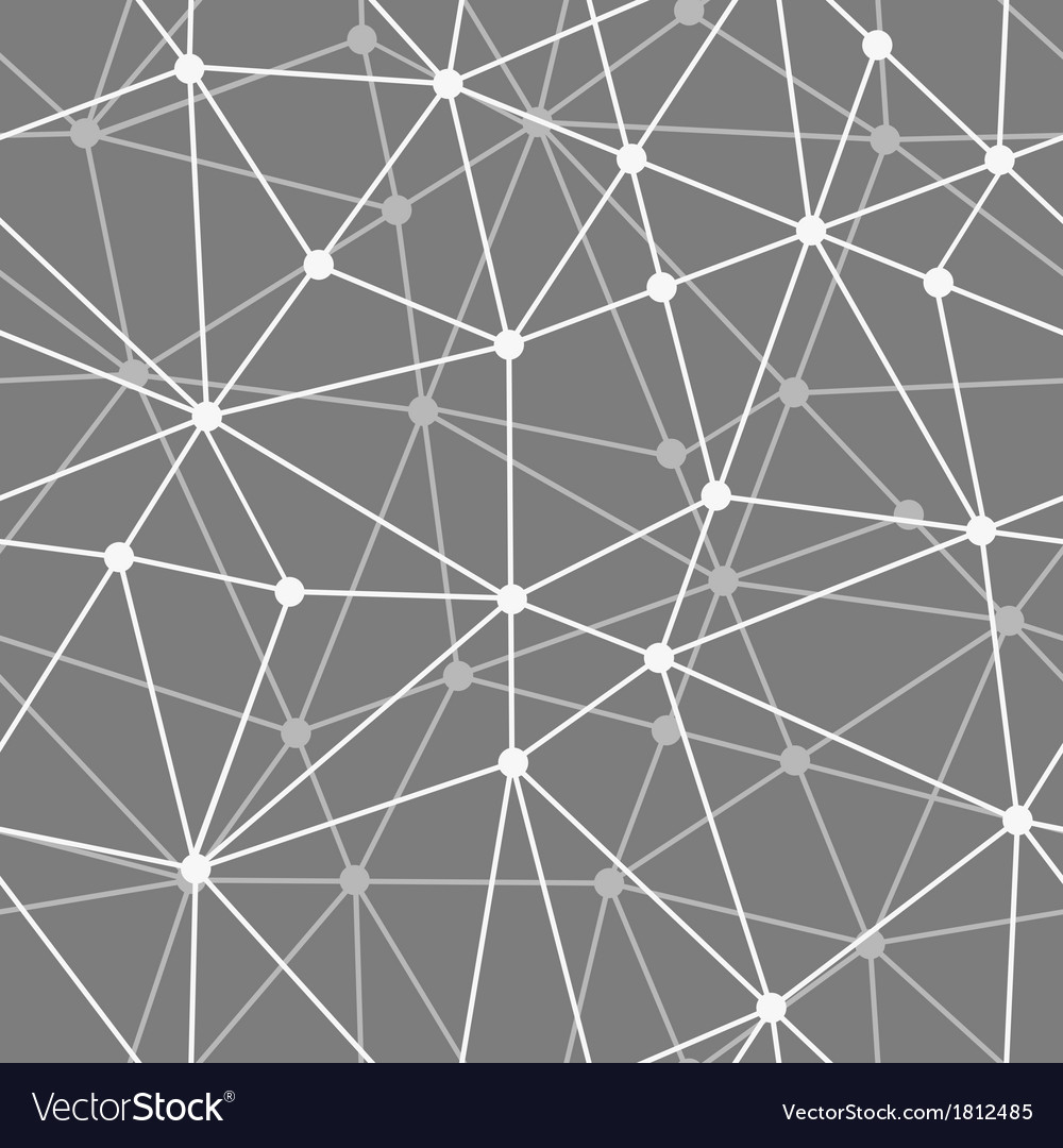 Abstract black and white net seamless background