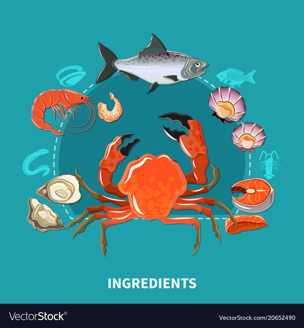 Sushi ingredients composition