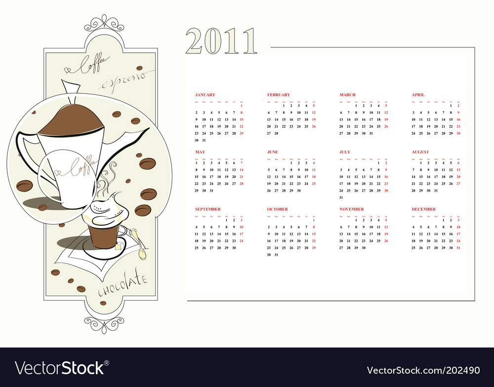 2011 calendar template. Template For Calendar 2011