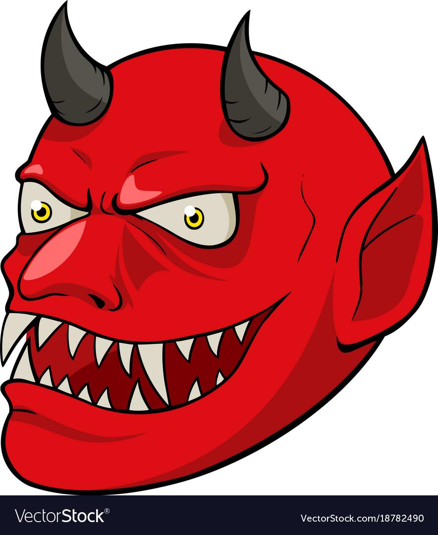 The devil vector image