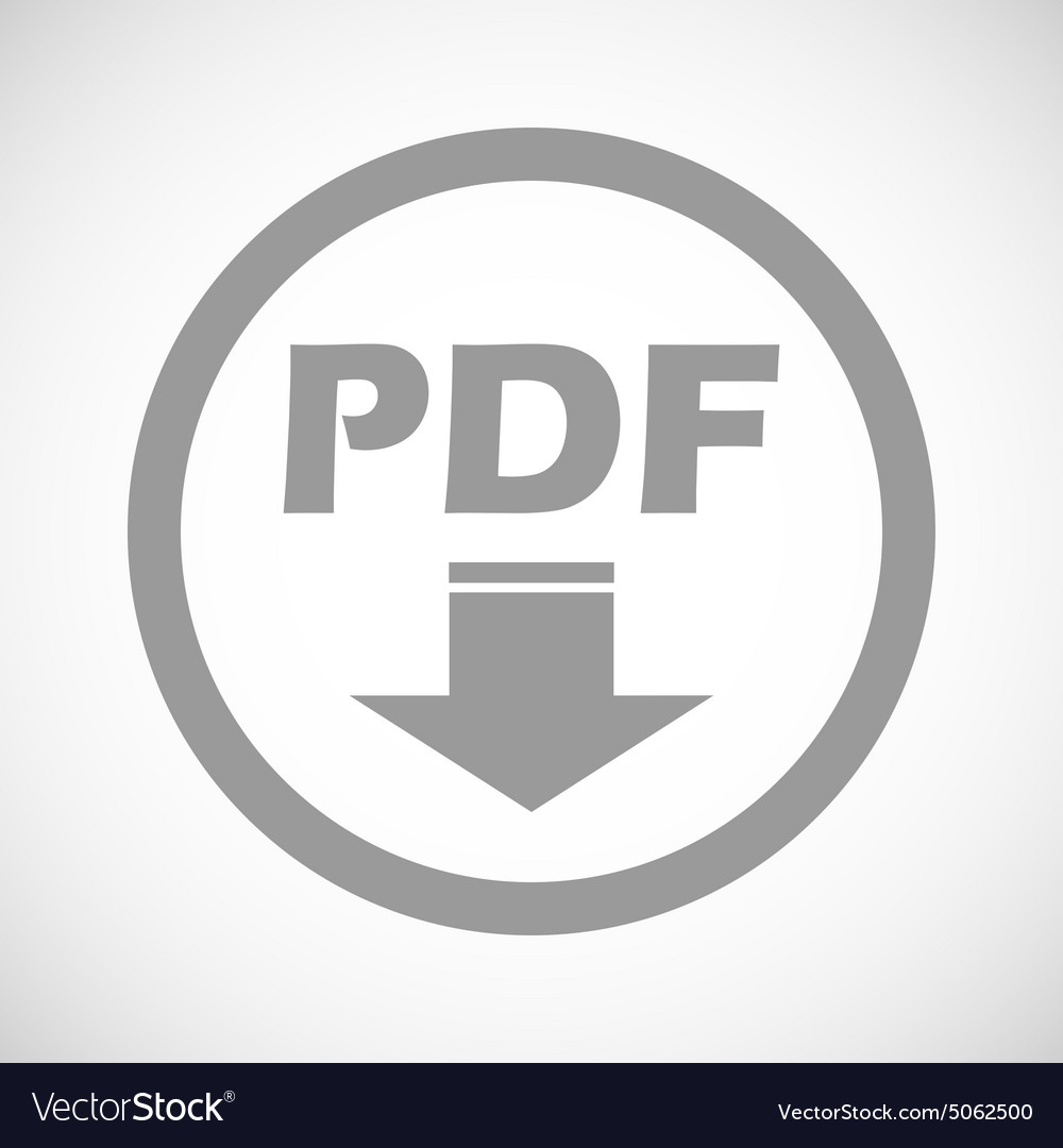 Pdf vector icon. Download file. Sign for web or app. Royalty free.